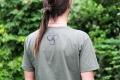 Geomatrix Design Kaki T-shirt 4