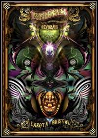 Psy Carnival Poster By Geomatrix Design