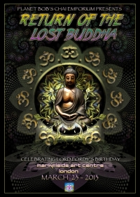 Return Of The Lost Buddha Poster By Geomatrix Design