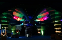 Boom Festival 2014 Chillout Stage Light Design By Geomatrix 001