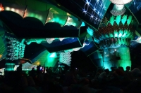 Boom Festival 2014 Chillout Stage Light Design By Geomatrix 003