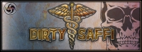 Dirty Saffi Banner by Geomatrix Design