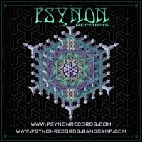 Psynon Sticker Square by Geomatrix Design