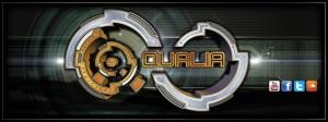 Qualia Facebook Banner V2 by Geomatrix Design